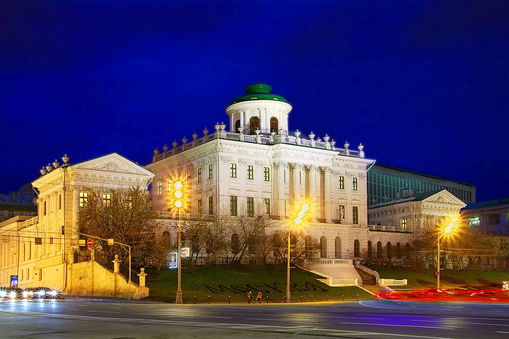 Ночная экскурсия Огни Москвы