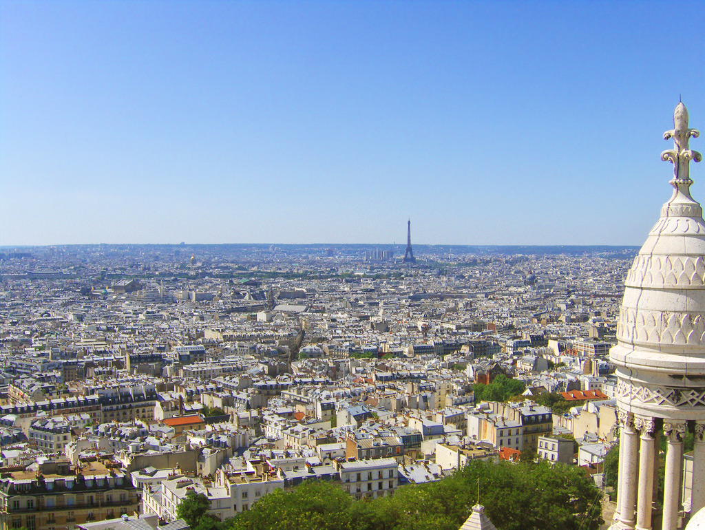 View from Sacré Coeur