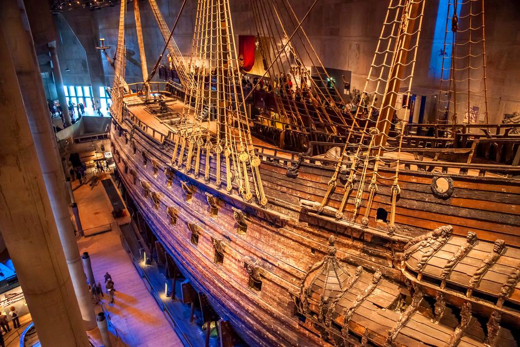 Корабль-музей Васа в Стокгольме