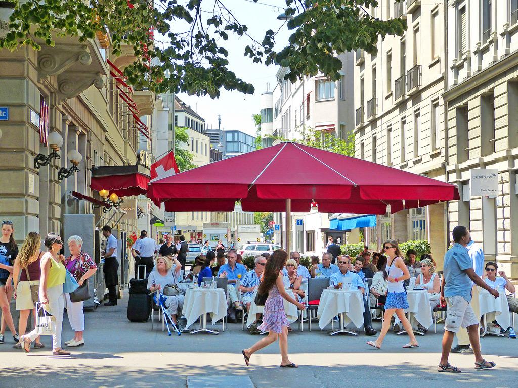Цюрих - финансовый центр государства