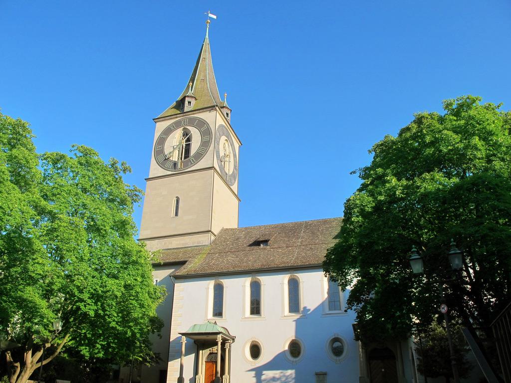 Zürich Kirche St Peter