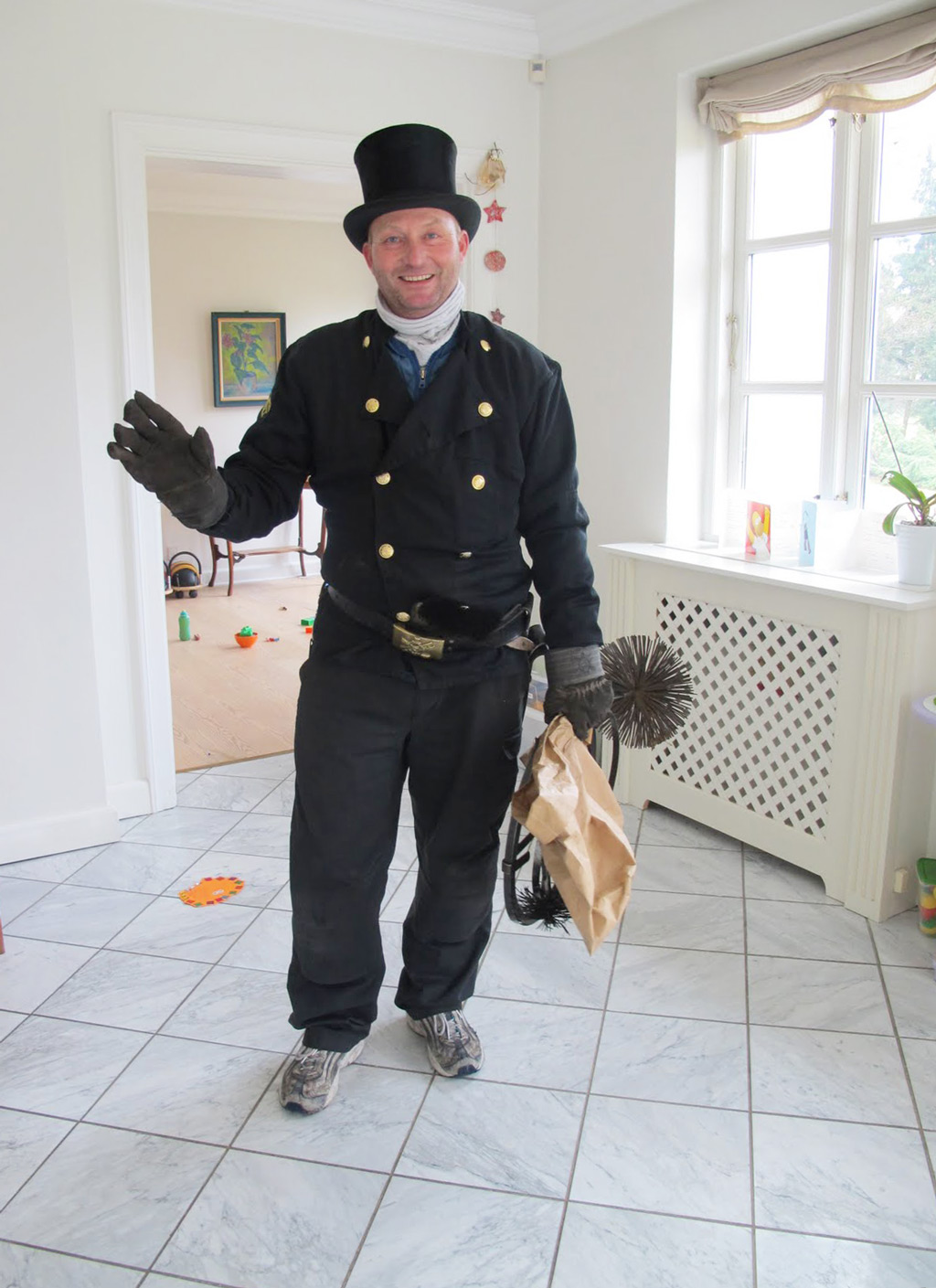 chimney sweep Copenhagen