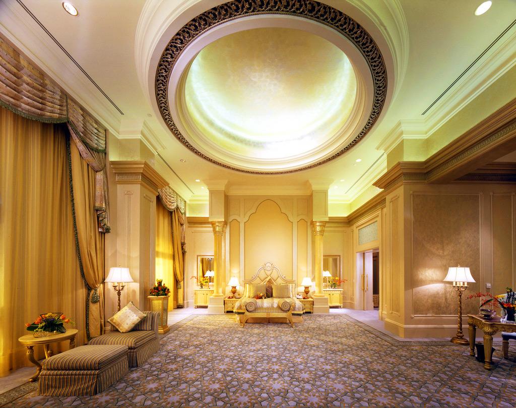 Номер в Emirates Palace, Абу-Даби