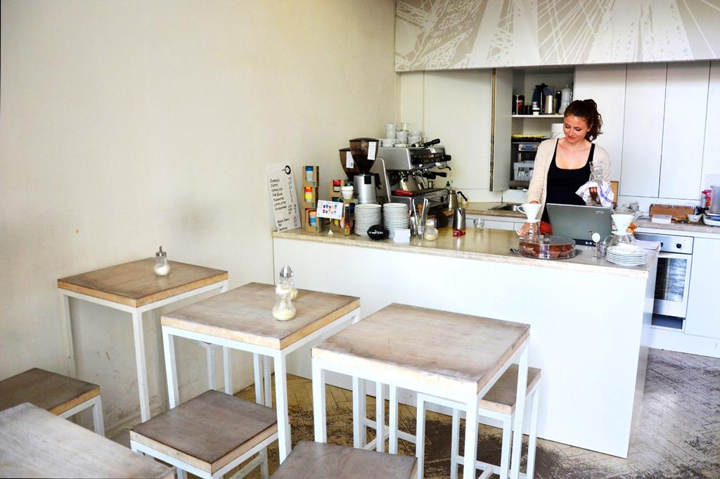 Кафе Kaffeefabrik в Вене