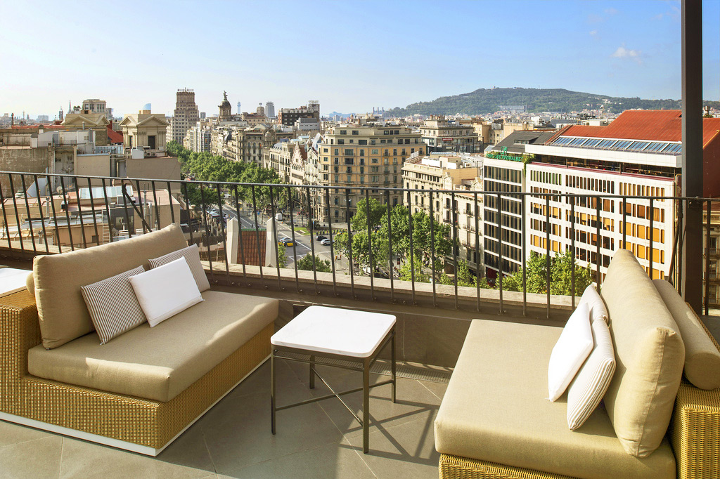 Rooftop Majestic Hotel Spa Barcelona