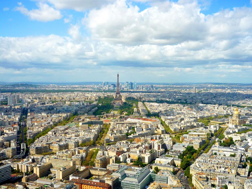 Vew from Montparnasse