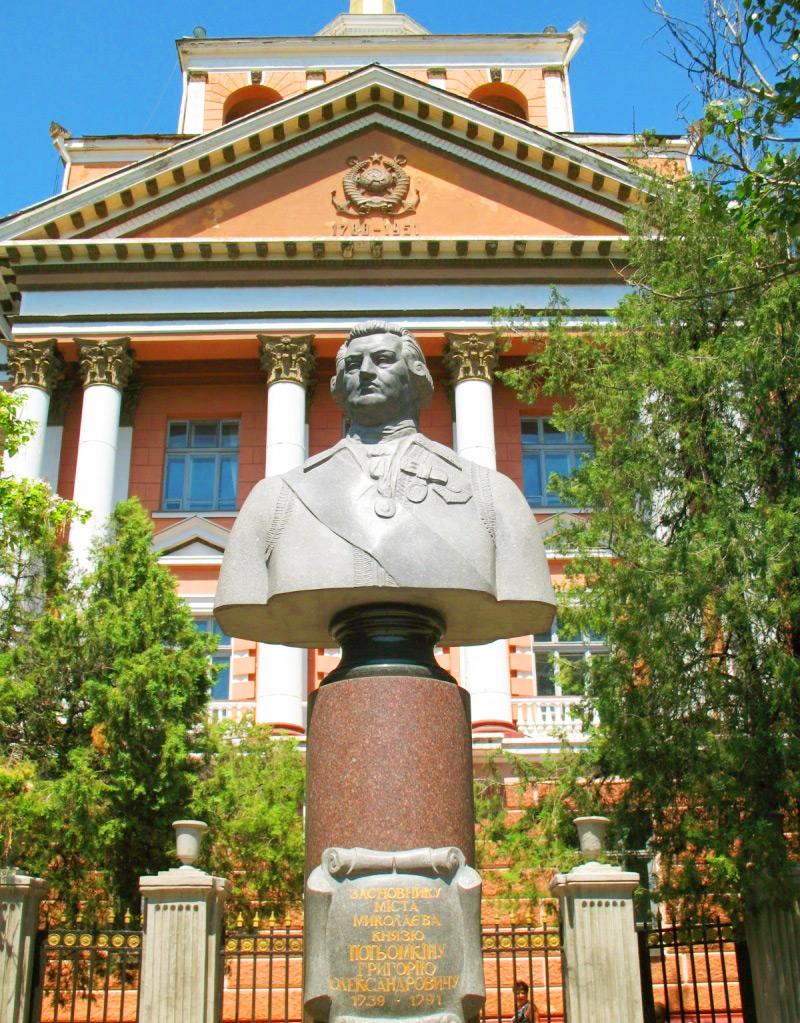 Памятник Потемкину в Николаеве