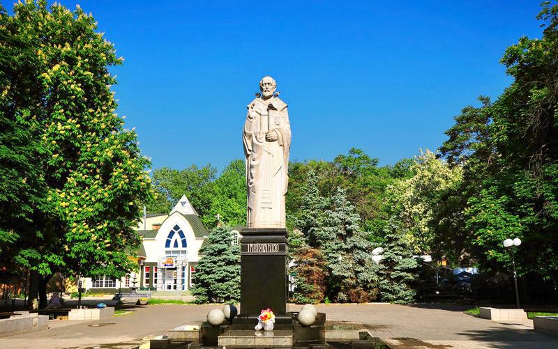 Памятник Святого Николая в Николаеве