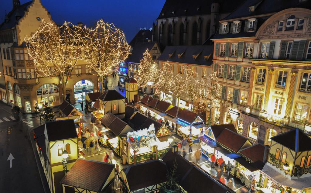 Рождественские ярмарки в Кольмаре
