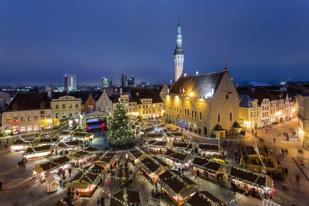 Рождественские базары в Таллине