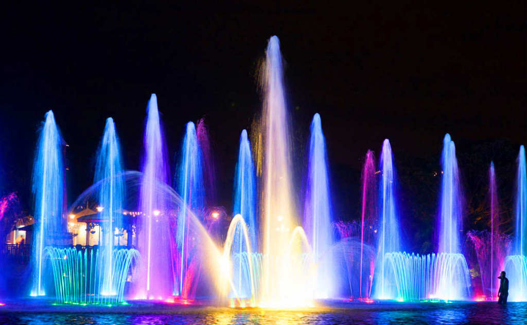 Танцующие фонтаны в Протарасе