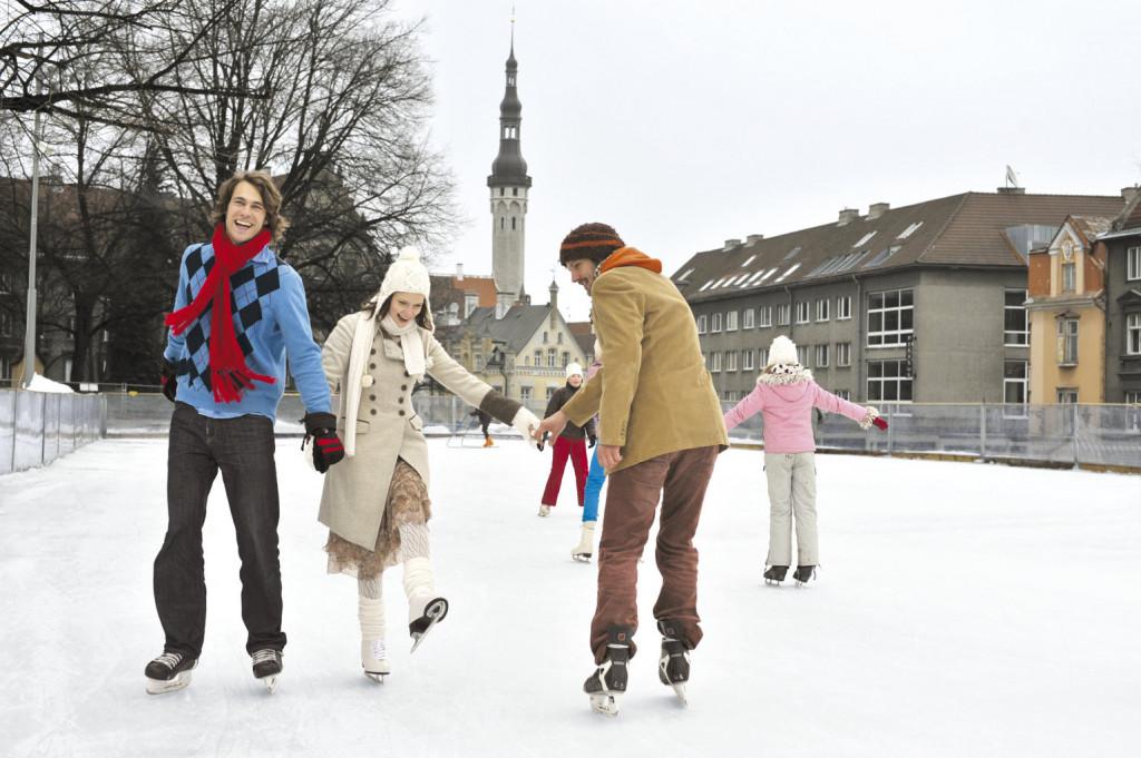 Каток в Таллине