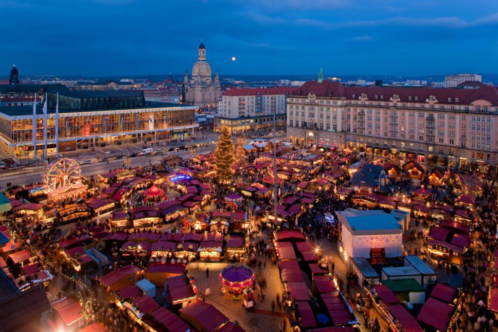 Striezelmarkt  - рождественская ярмарка в Дрездене