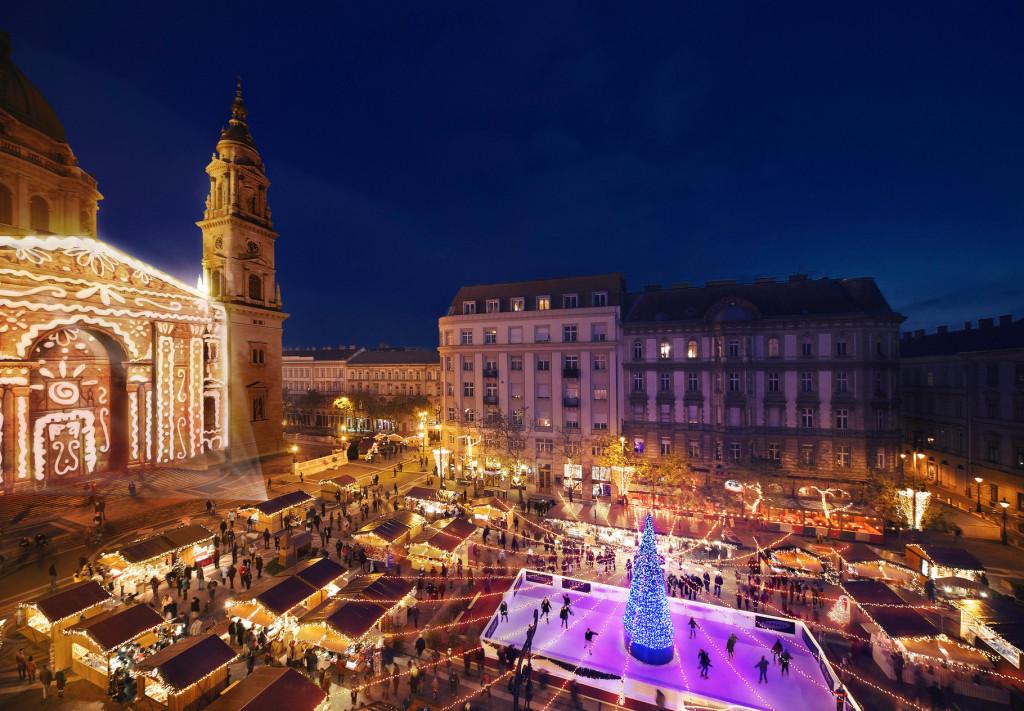 Рождественские базары в Будапеште