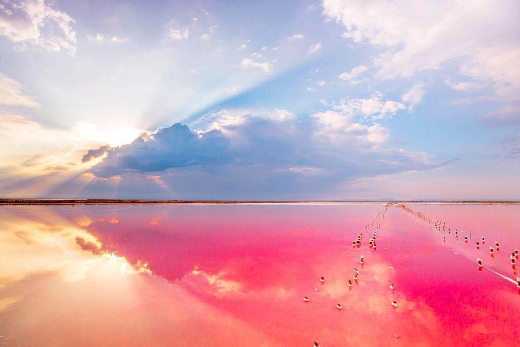Вид на озеро Сасык