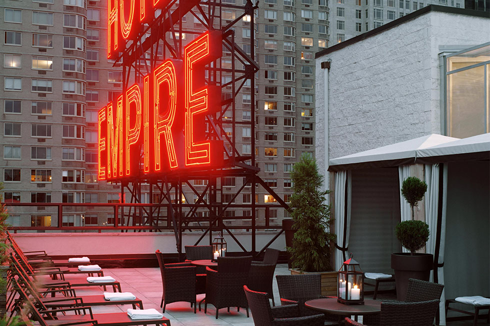 EMPIRE HOTEL ROOFTOP