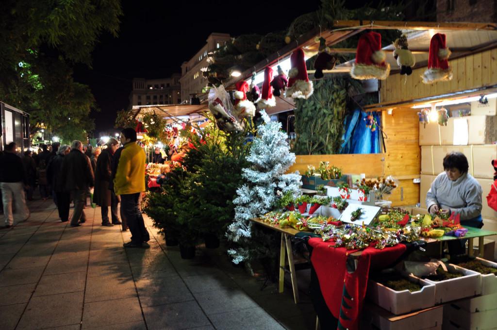 Рождественские базары в Манчестере