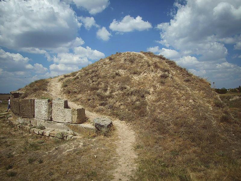 Зевсвов курган в Ольвии