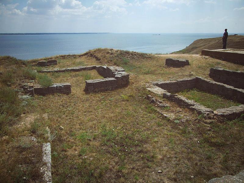 Национальный историко-археологический заповедник Ольвия, Парутино
