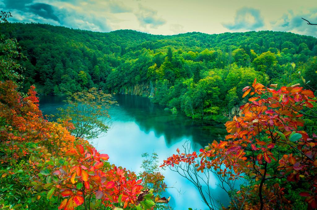 Национальній парк Плитвицкие озера, Хорватия