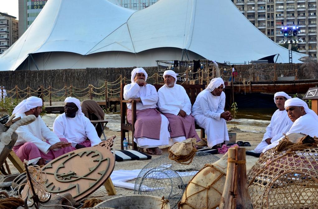 Фестиваль Qasr Al Hosn в Абу-Даби
