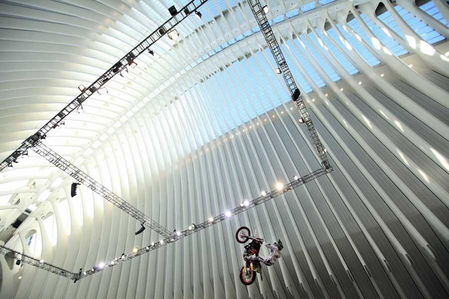 Спортивные мероприятия в Agora, Город искусств и наук