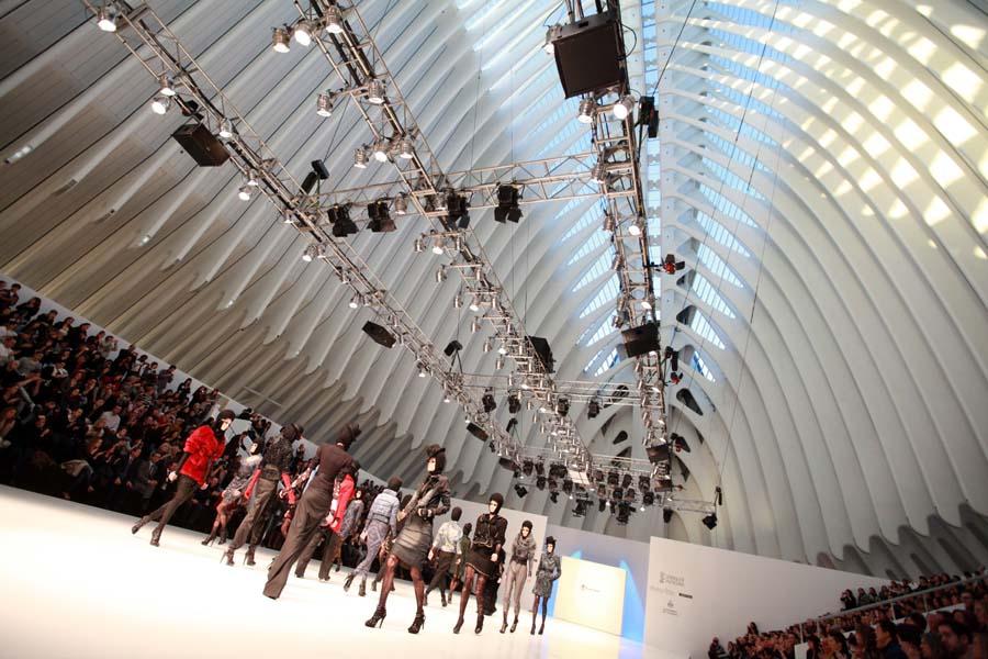 Показ мод в Agora, Валенсия