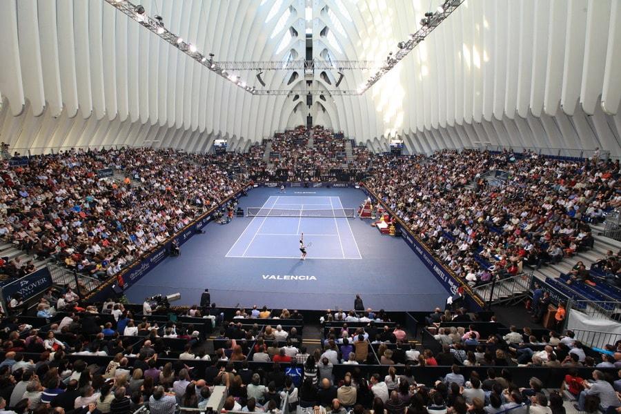 Теннисный турнир в Agora, Город искусств и наук