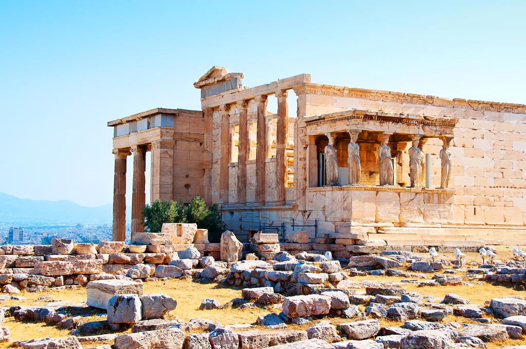 Акрополь, Афины, Греция