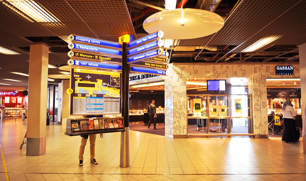 Амстердамский аэропорт Схипхол, Нидерланды