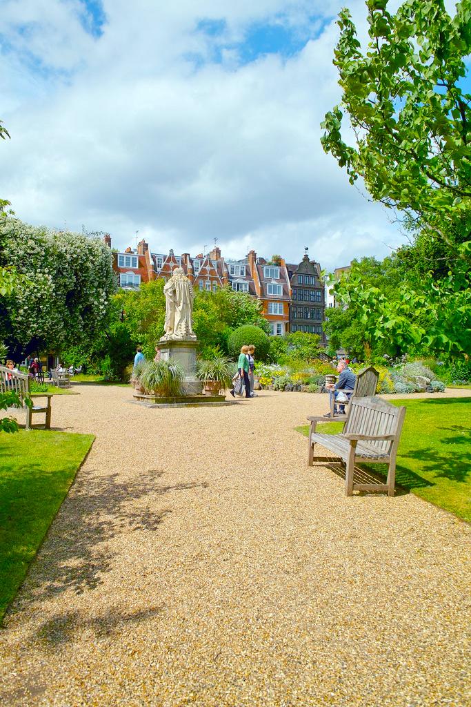 Аптекарский сад, Челси, Лондон