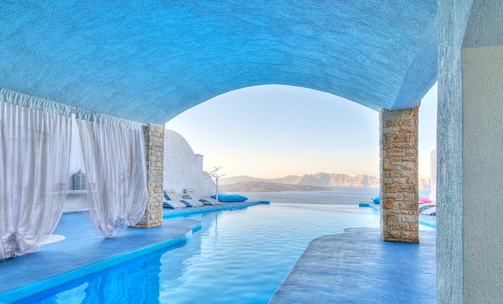 Бассейн Astarte Suites Hotel, Греция