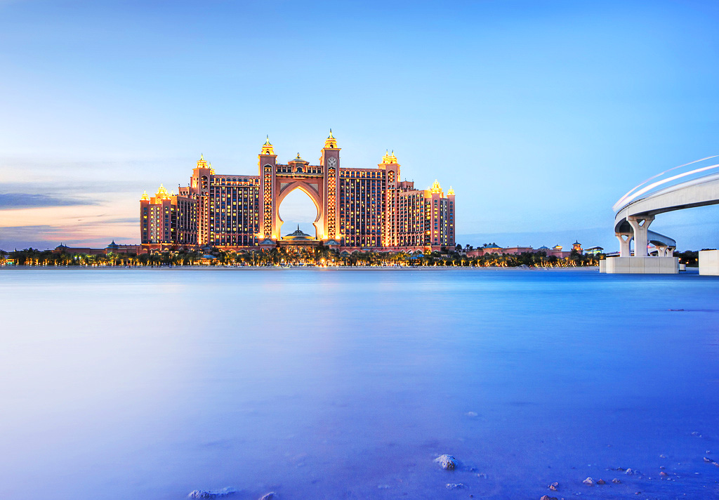 Отель Atlantis Palm, Дубаи