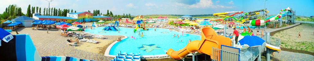 "Панорама аквапарка ""Коблево"""