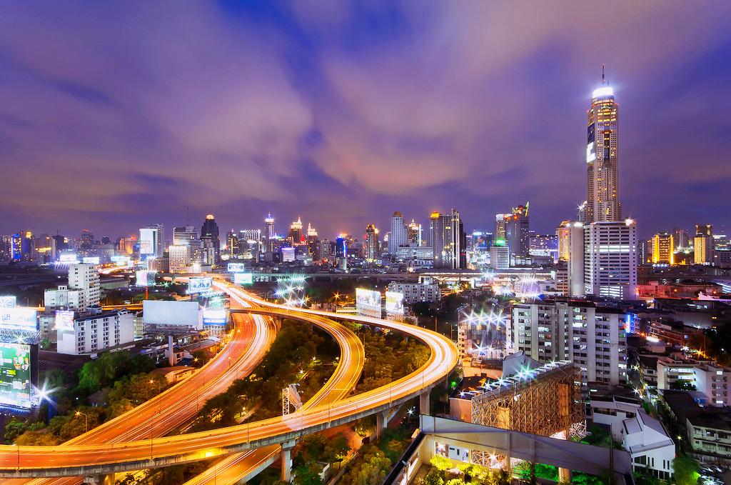 Топ-руф бар Baiyok Sky в Бангкоке