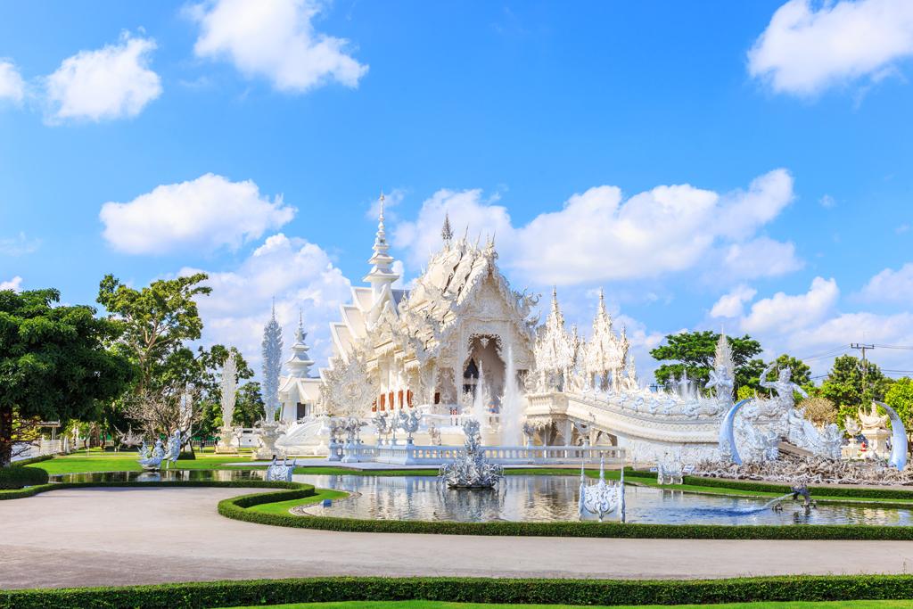 Белый храм Ват Ронг Кхун, Чианг Рай, Таиланд