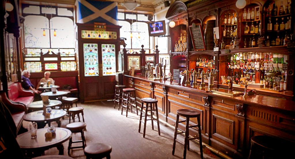 Bennet's Bar в Эдинбурге