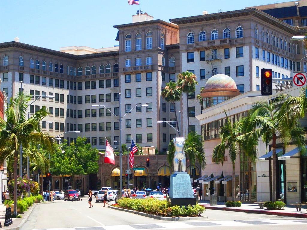 Beverly Wilshire Hotel, Беверли Хиллз, США