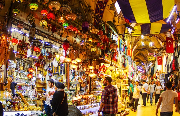 Большой базар (Капалы Чарши) в Стамбуле