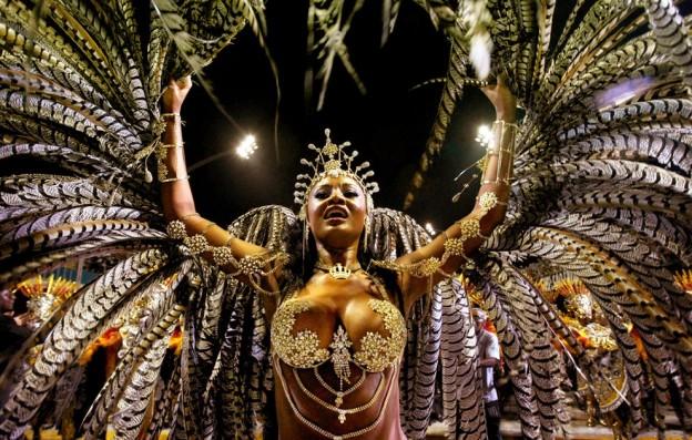 Бразильский карнавал, самбодром, Рио-де-Жанейро