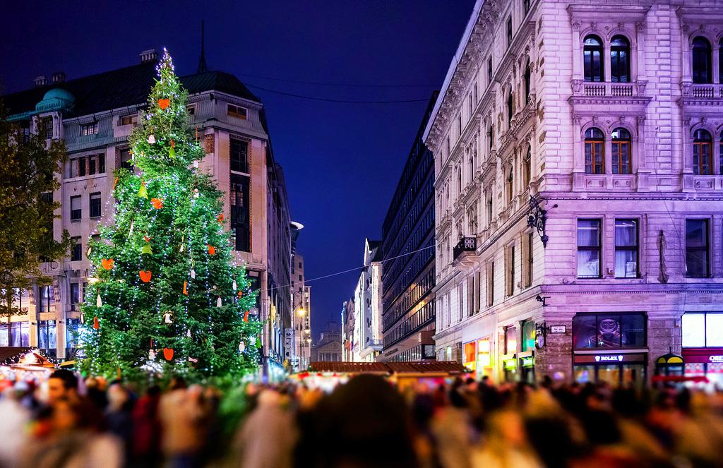 Рождественские праздники в Будапеште