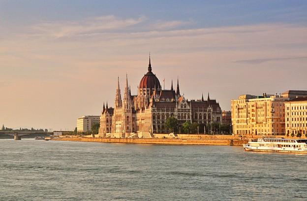 Круиз по Дунаю, Будапешт