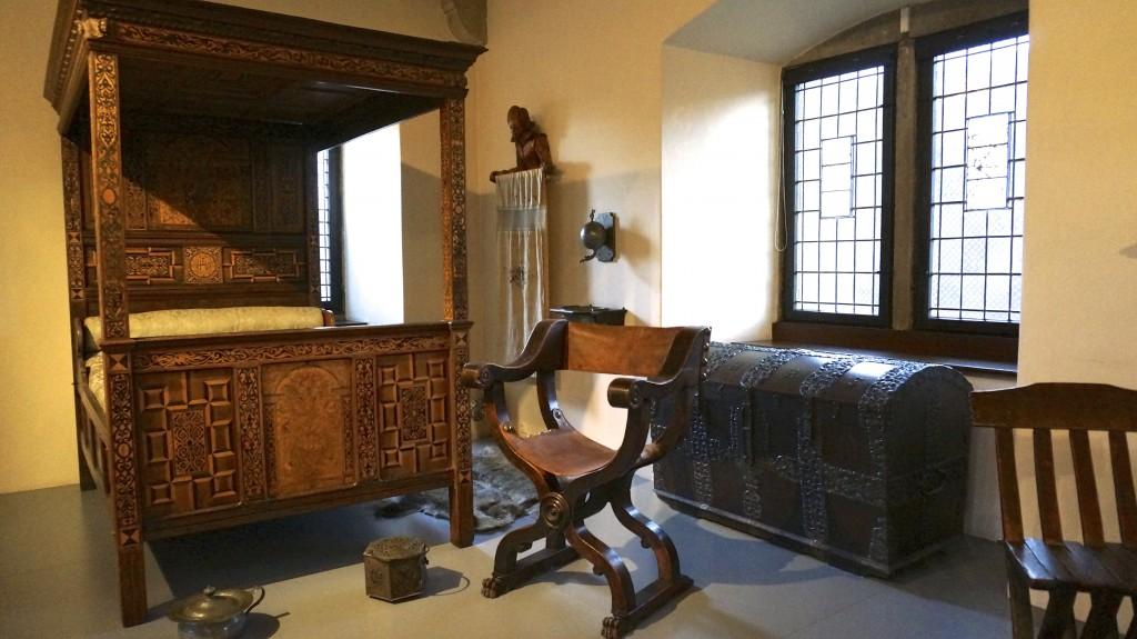 Номер в хостеле Burg Altena в Алтене