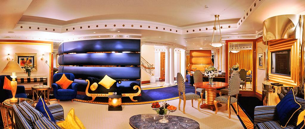 Номер в отеле Бурдж Аль Араб (Парус) в Дубаи