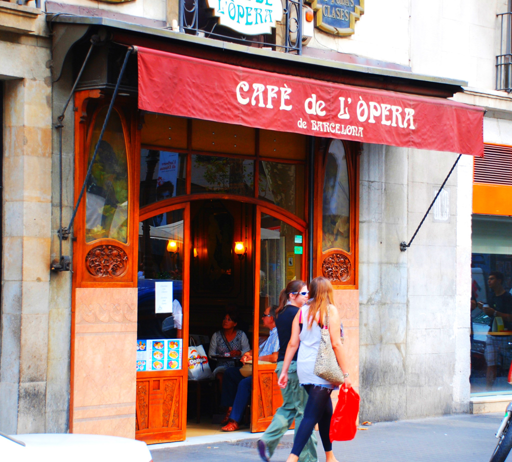 Cafе de l'Opera, Барселона
