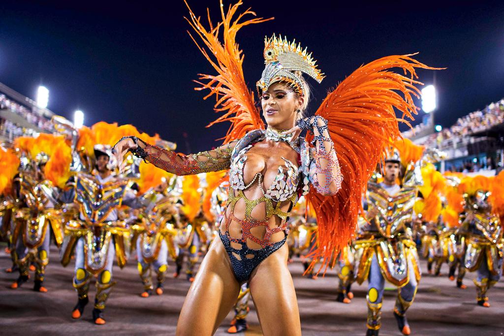 Самбадром, Бразильский карнавал 2014