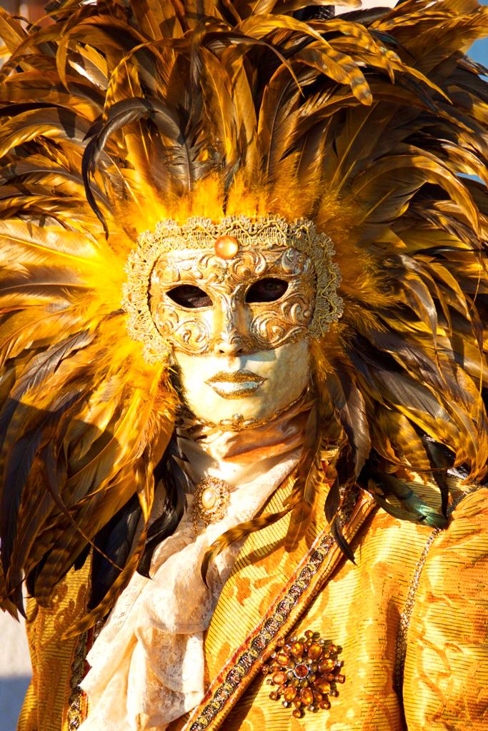 Венецианский карнавал 2015, маски