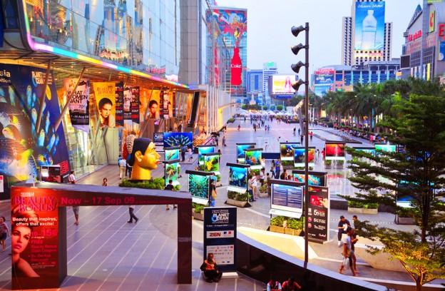 Central mall Bangkok