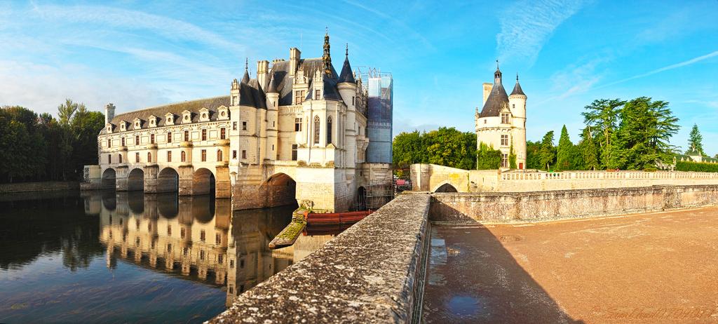 Замок Шенонсо и башня донжон, Эндр и Луара, Франция
