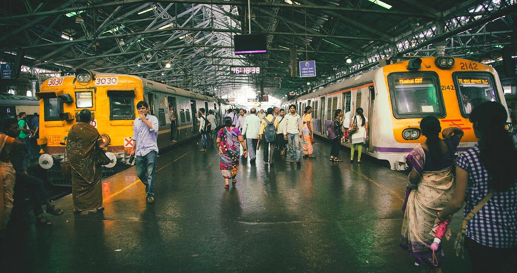 Вокзал Чхатрапати Шиваджи в Мумбаи